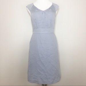 Banana Republic Dress Blue & White (6)